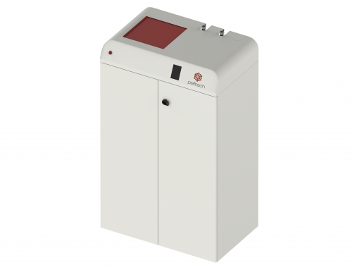 Nova caldeira Pelltech de 15 kW